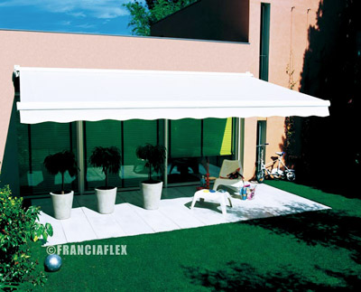 Stores ext rieurs for Store terrasse electrique